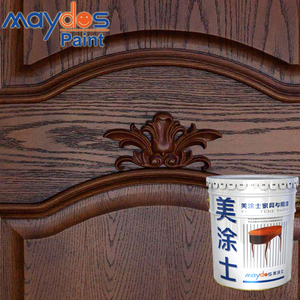 Food Grade High Glossy Yellow Resistance UV Paint for Wood