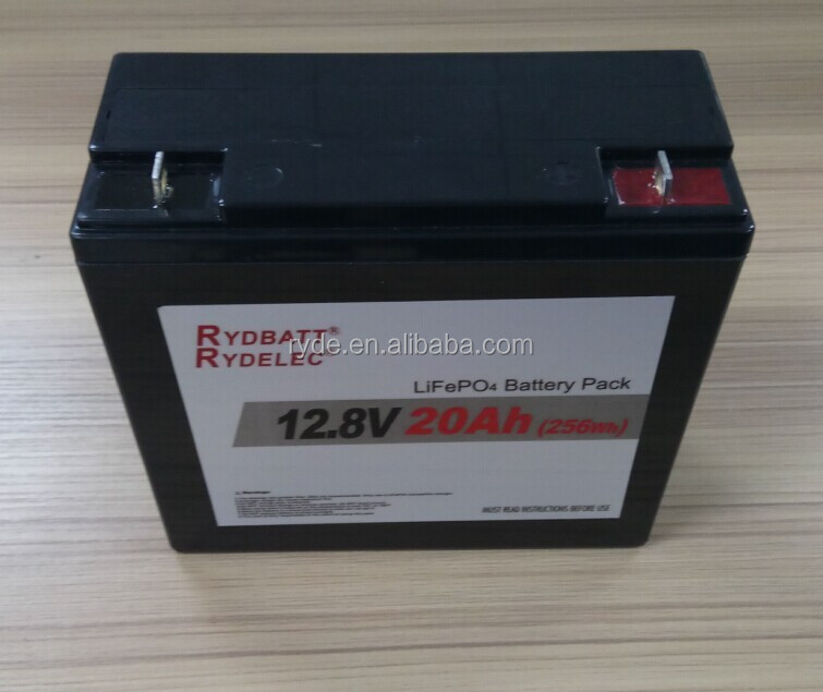 SLA 24v 10ah 26650 rechargeable lifepo4 battery pack for solar power and ups system