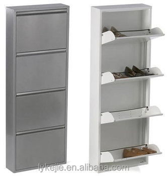Ventilation Shoe Cabinet Mirror Shoes Cabinet With Drawers Stainless