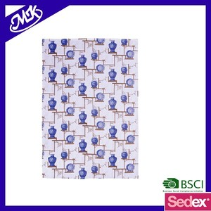 100% cotton Blue and white porcelain printed tea towel