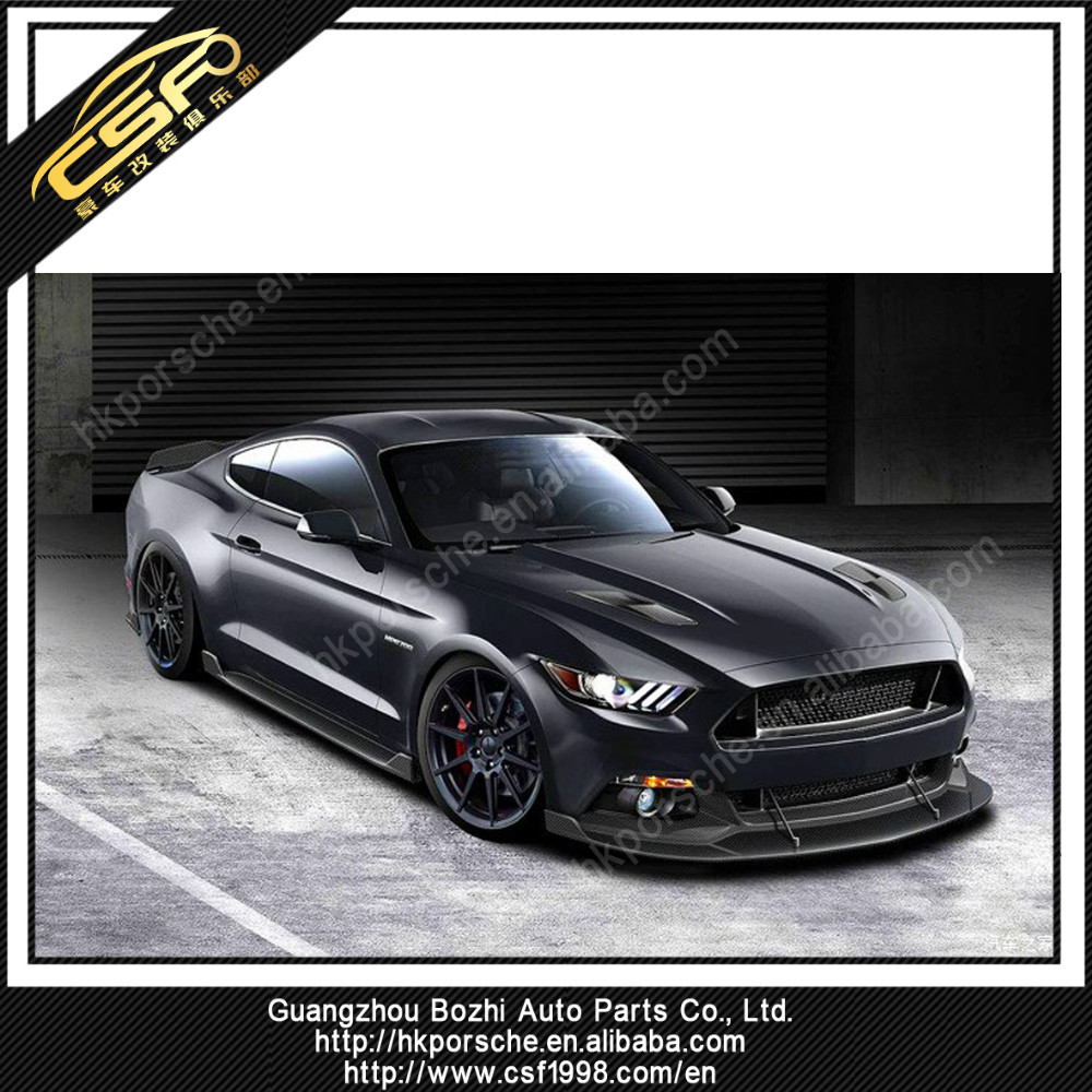 Limited edition body kit for 2015 + Mustang in HN style in PU