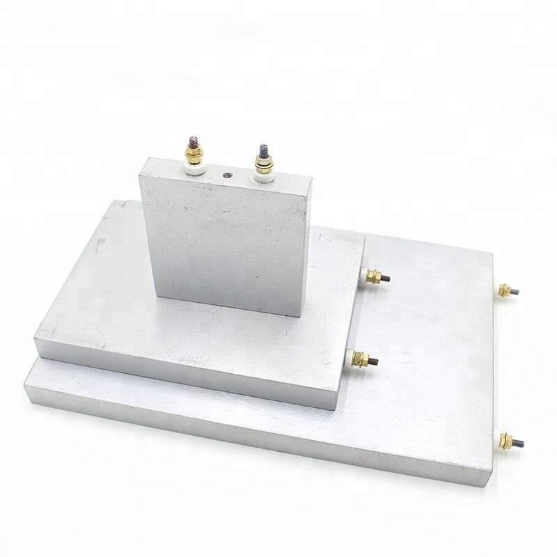 110 v-440 v उच्च तापमान में एल्यूमीनियम डाली हीटर के साथ Casted हीटिंग प्लेट पेंच टर्मिनल