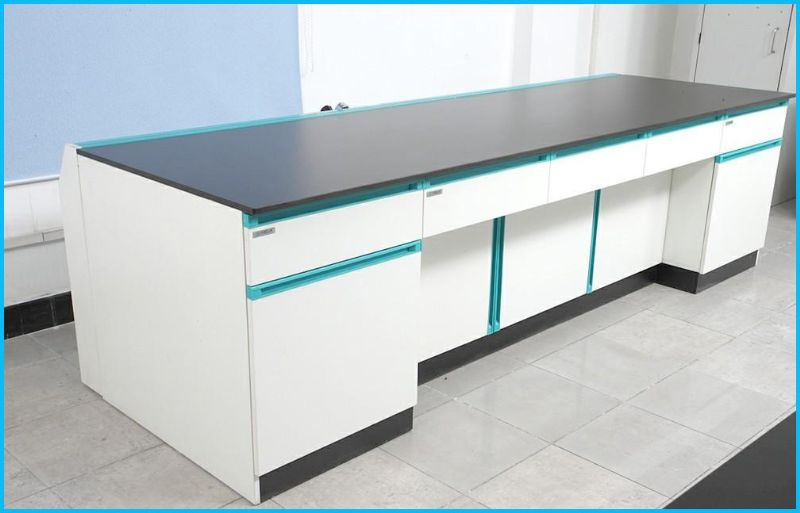 Charming Top Seller Of All Wood Lab Table/lab Wall Bench With Best Price