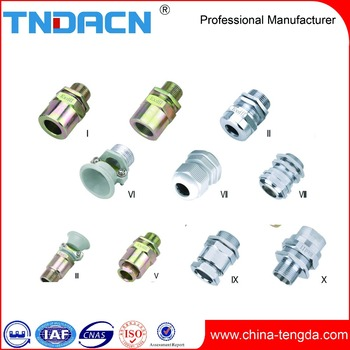 Explosion proof cable clampsealed connector ip65 ip66 metric m25 m50 G0.5 G1 stainless steel metal cable gland