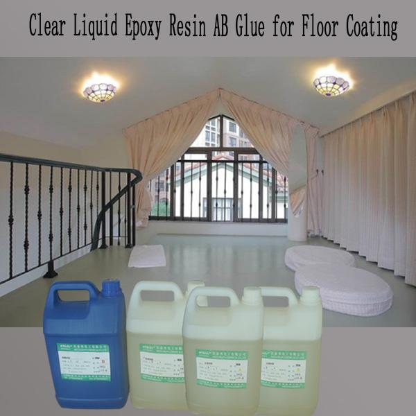 Clear Liquid Epoxy Resin And Hardener