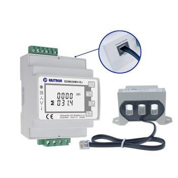 7e89dc5f61ab0d SDM630MCT-RJ Smart Electricity Meter RS485 Port Modbus-RTU Digital  Multifunction Electric Power Meter