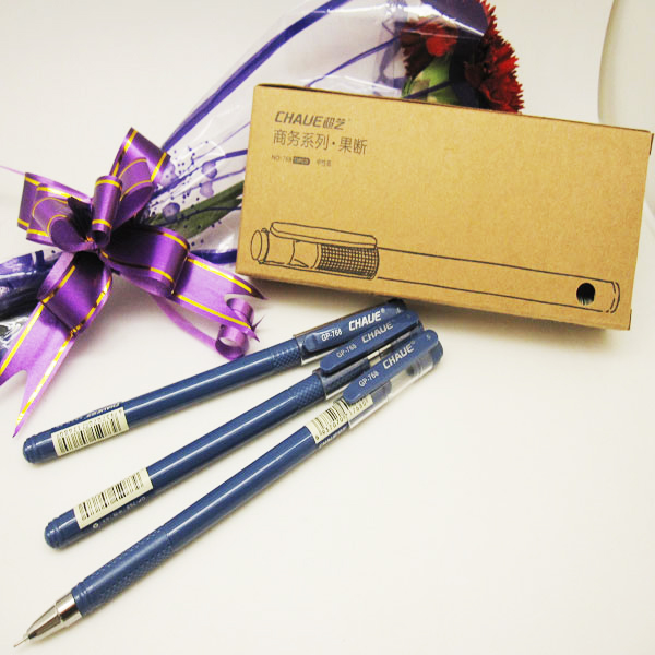 Elegant Blue Gel Ink Pen