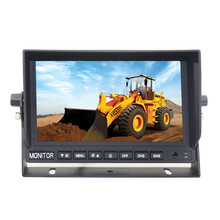 Backup car monitor digitale panel 7 inch <span class=keywords><strong>campers</strong></span> monitor reverse parkeerhulp voor truck 24 v breed voltage supply