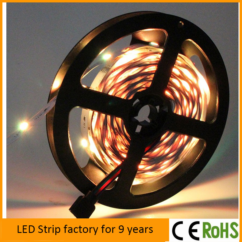 Factory Best Price Smd IP65 Waterproof Rgb warm white white red blue green yellow LED Light Strip 5050 Flexible LED Strip Light