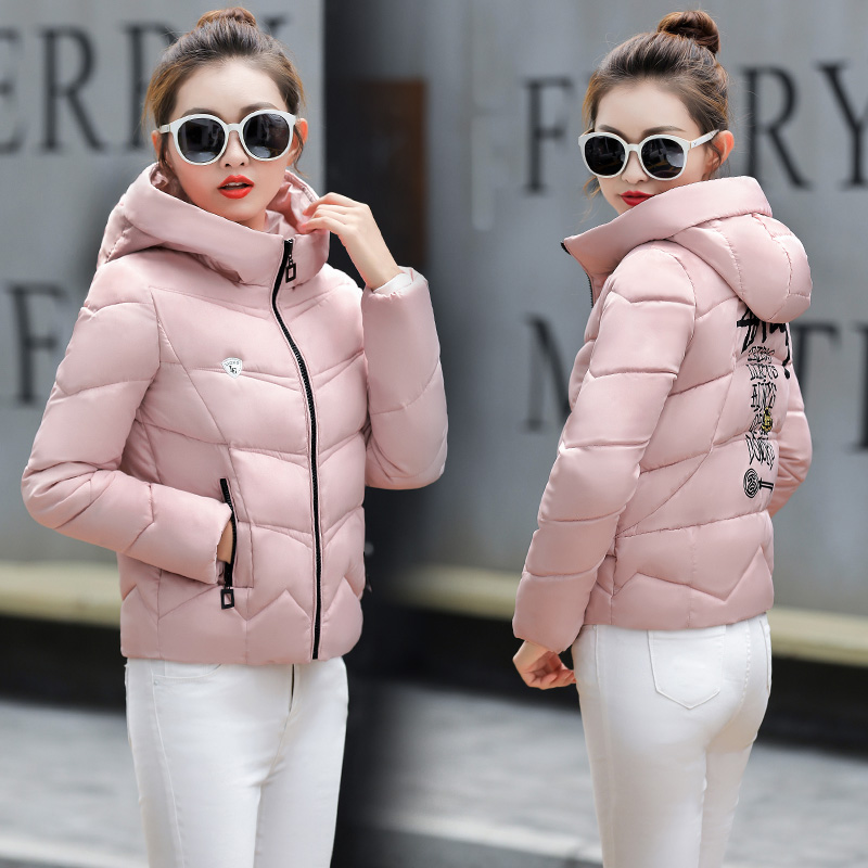 Wholesales Women Stand Collar Zipper Down Jacket For Ladies' Winter Outdoors