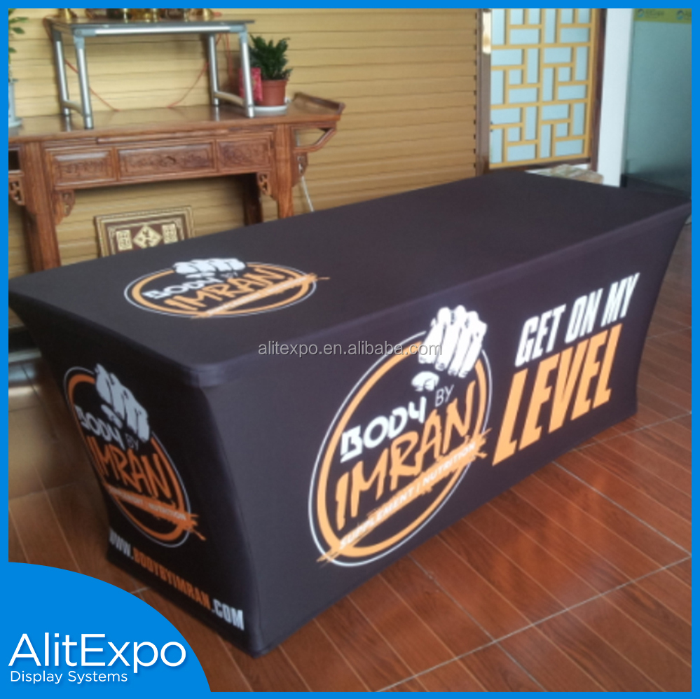 custom advertising rubber table cloth