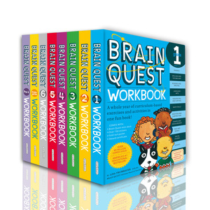 Brain Quest Workbook Child Intelligence Development Card Books Questions  and Answers Smart Card kids