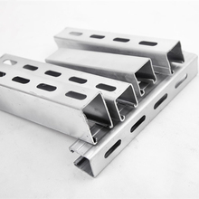 stainless steel unistrut channel 41x41x2.5 mm china price