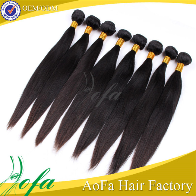 100% virgin unprocessed natural brazilian hair pieces