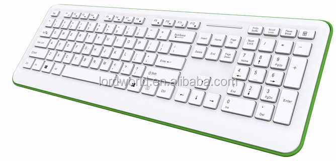 Shenzhen Factory compact ergonomic keyboard with oem multiple color for option