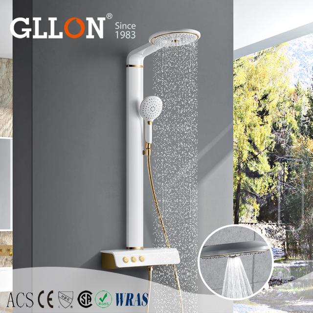Perfect Design Multi Function Massage Raining Shower Column