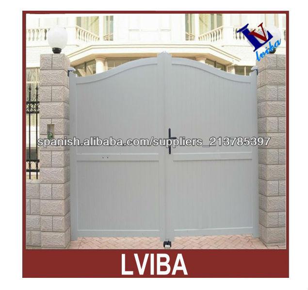 Puertas de aluminio y puerta de entrada principal de for Diseno puerta principal