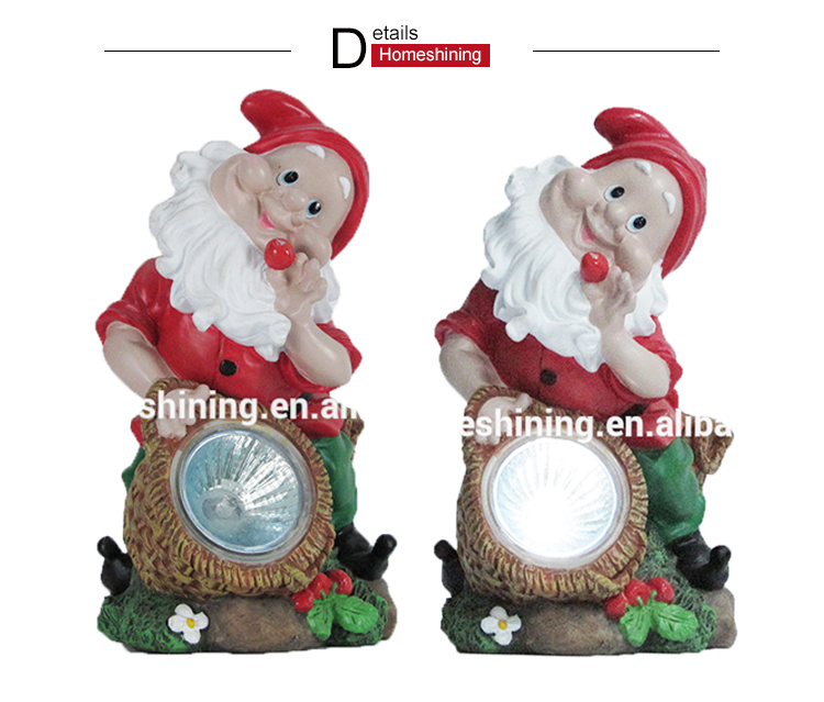 Polyresin Home Decoration Personalized Garden Gnome