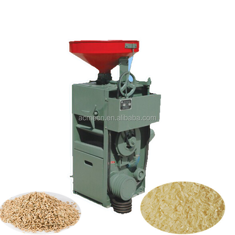 diesels engine driven Rice Mill with polisher machine