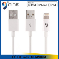 100% Original MFi Certified Nylon Braided MFI Cable 8 Pin USB Data Charging Cable MFi Factory Direct Supply