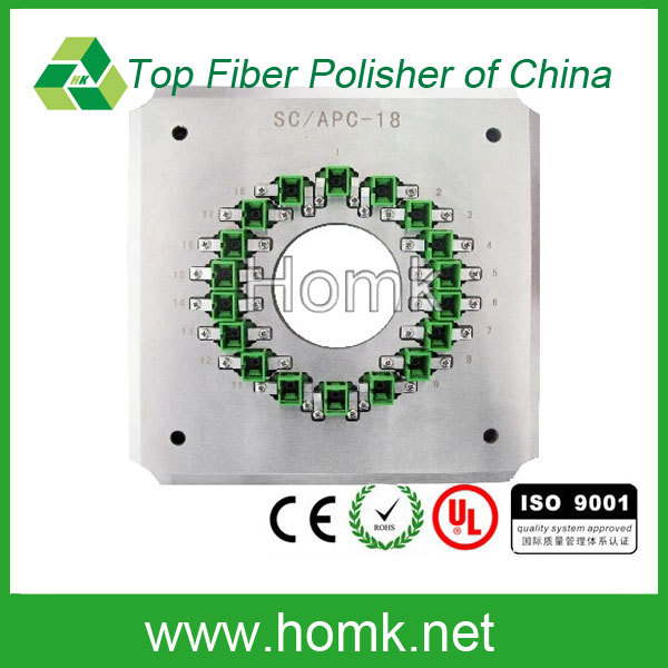 LC/PC-36 Homk fiber polishing fixture,36 port optical polishing fixture,high quality LC PC fiber polishing Jig