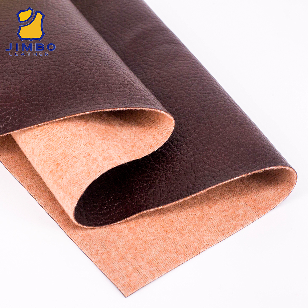 China Factory Direct Sale OEM Service Price Per Meter Imitation Leather Fabric For Handbags Or Jackets