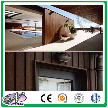 Outdoor Bamboo Wall Cladding Board