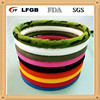 Auto slip-resistant rubber silicone steering wheel cover