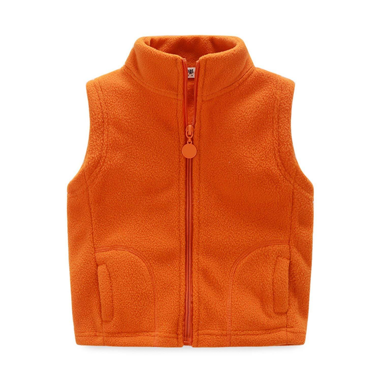 c53520c26c16 Buy Mofgr Winter Sleeveless Kids Vest Boys Outerwear Warm Children ...