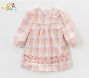 Spring Autumn Wholesale Children's Wear Girls Dresses