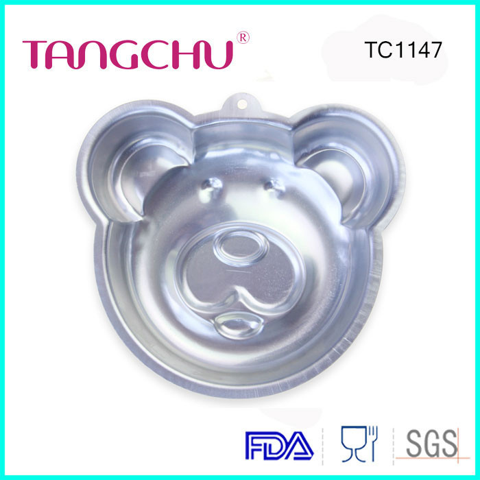 Cute Bear Shape Mousse Mold Chinese Supplier Cake Decoration Tools Cake Pans Molds Baking Pan