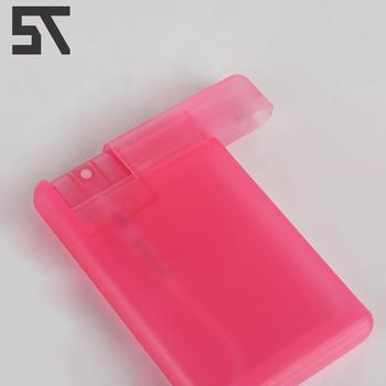 screen printing 20ml plastic credit card flat spray bottle pocket size card sprayerempty white - Plastic Credit Card