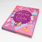 Children english story book hard cover book printing