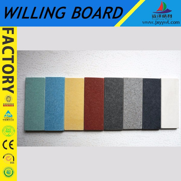 CE AND ISO Approved 100% Asbestos cladding board Factory colored cement board