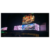 China hd full color outdoor large advertising P15.625/31.25 screen led display with best price