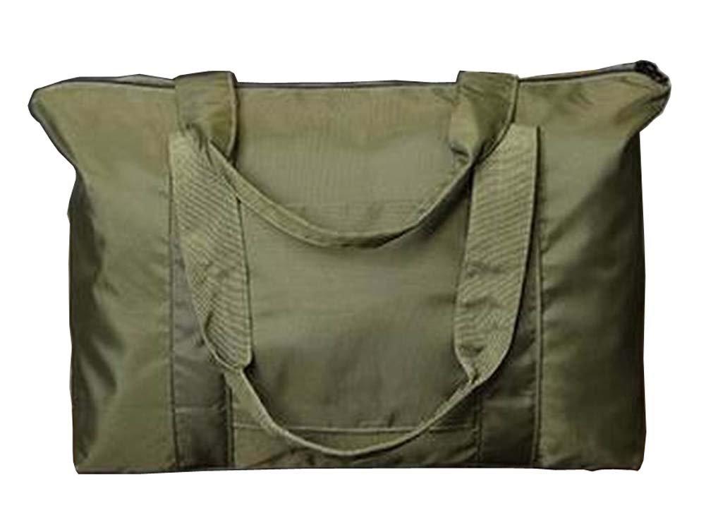 [Green-2] Simple Style Travel Tote Bag Duffel Bag Handbag Sports Shoulder Bag