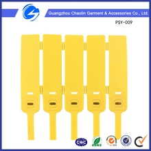 Plastic Locks One Time Plastic Lock Plastic Seals for Bags Cargoes and Package Case