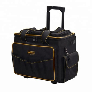 Heavy duty durable trolley tool bag multifunction tool bags with wheels