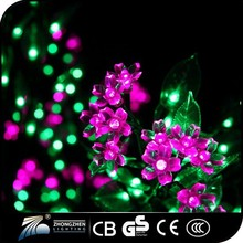 Hot sale new product space adornment , beautiful decorative led tree flower lights