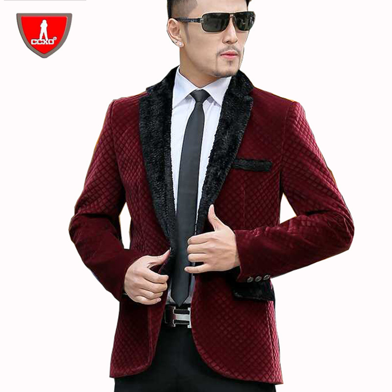 Red Blazer With Black Collar For Men | Professor Yossi Sheffi