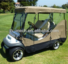 Customised golf cart rain cover for 4 seats