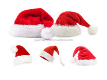 Velour/velvet Christmas Hat/XMAS hat,santa claus hat ,children and adult