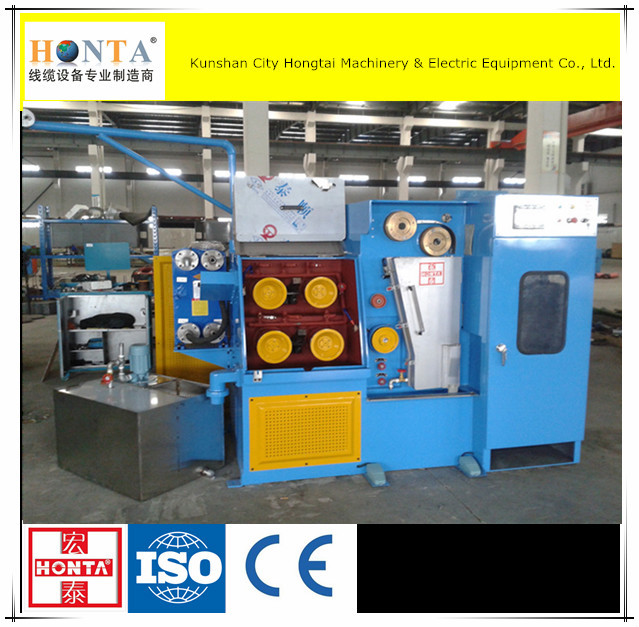 Electrical Multi-wire Drawing Machine,8 Heads Fine Wire Rolling ...