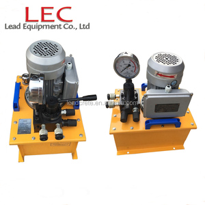 Double Acting Hydraulic Cylinder Electric Oil Pump
