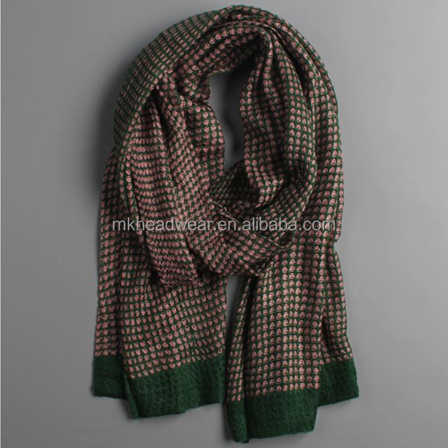 High Quality New Style Pattern and Long Style of Length Scarf For Men&Women