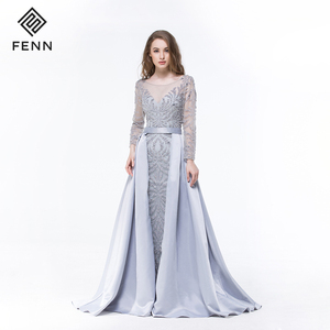 Chaozhou OEM Special Floor-length Party Gown Long Evening Dress 2019