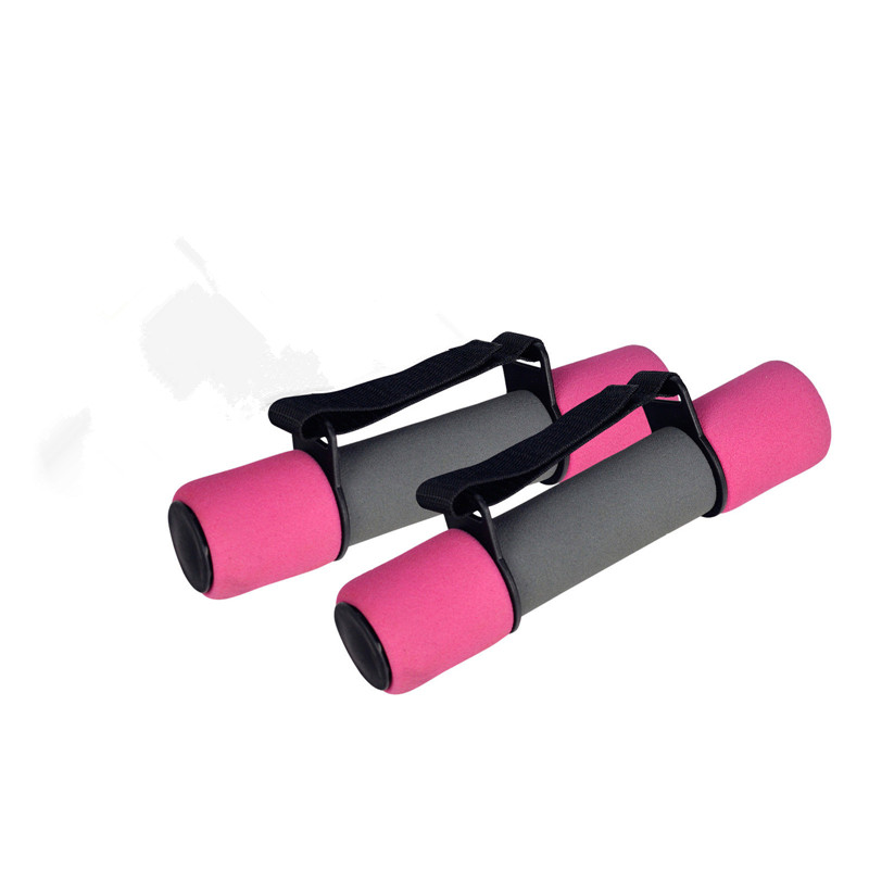 Hand Weight Lifting Cast Iron Soft Dumbbell With Strap