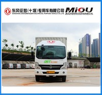 Hot dongfeng 82hp 4x2 Electric Box truck
