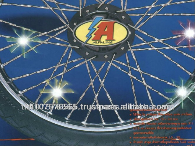 High Quality Chrome Spoke Motorcycle Wheel Rims