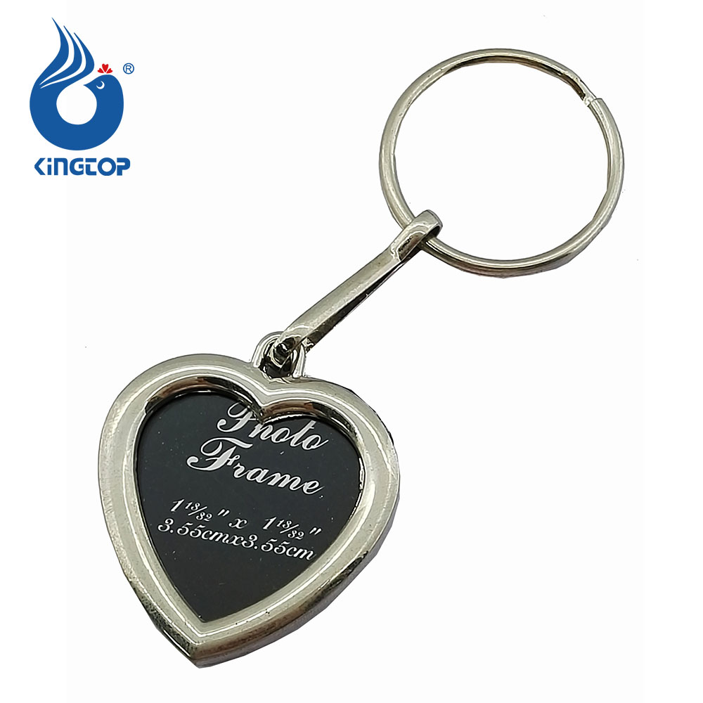 heart small metal photo frame keyring 1 footwear 93f92 61b20 ...